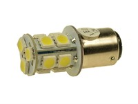 Ampoule AVANT à LED's, BA15d 12V 15W, 2 contacts