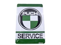 Blechschild Puch Service