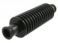 Durchlaufkühler STR8, rund, Anschlussweite 17mm / Innendurchmesser 13mm, schwarz