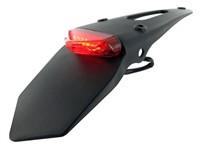 Schutzblech STR8, inkl. Rücklicht, rot
