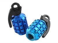 Ventilkappen STR8 Granate, blau