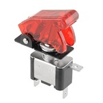 Coupe circuit Kill Switch type NOS,  rouge transparent