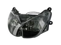 Chrome LED Scheinwerfer f/ür Motorrad Vespa GTS 300