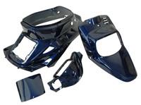 Verkleidungskit STR8 komplett 4 Teile, MBK Booster / Yamaha BWs (vor Bj. 2004), blau