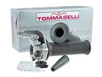 Schnellgasgriff Tommaselli alu/chrom (36mm/148°)