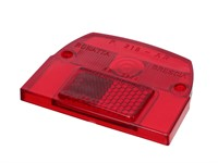 Rücklichtglas rot Piaggio SI