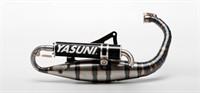 Auspuff Yasuni Carrera 16 Alu-Schwarz, Minarelli vertical