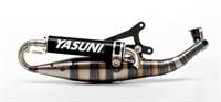 Auspuff Yasuni Carrera 16.07 Alu-schwarz, Minarelli horizontal
