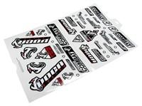 Aufkleberset VOCA Racing, beinhaltet Aufkleber für rechts und links